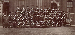 IoW Rifles Band - 1910