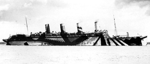 Picture of HMTS Aquitania