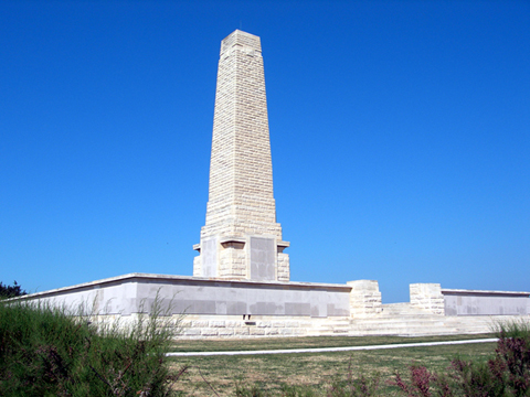 Picture of Galipoli War Memorial at Hellos, Turkey