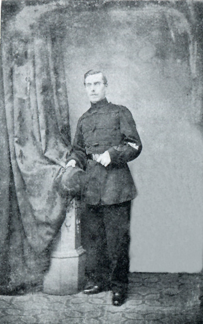 Picture of Rifleman of the Isle of Wight Volunteers, 1861