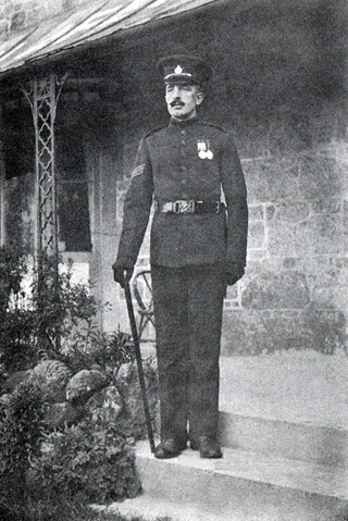 Picture of a sargeant, 1902